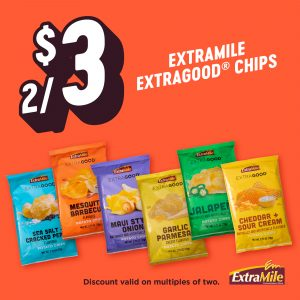 ExtraMile ExtraGood Chip Flavors
