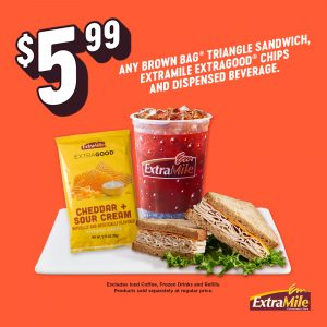 $5.99 Chip and Drink Promo