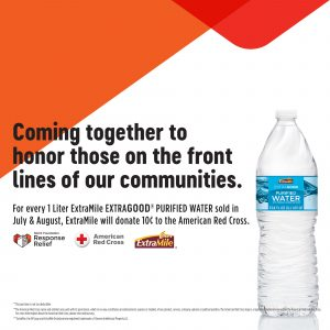 American Cross and Extragood Water Promo